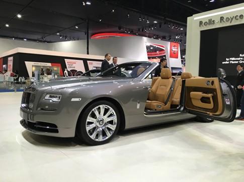 Rolls-Royce Dawn giá 1 triệu USD tại Đông Nam Á