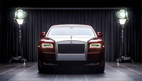 Rolls-Royce Ghost gắn kim cương