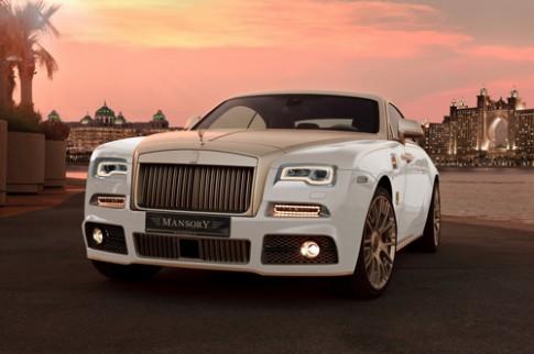 Rolls-Royce Wraith mạ vàng hàng độc