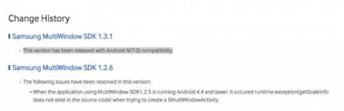Samsung làm lộ tên gọi của phiên bản Android mới