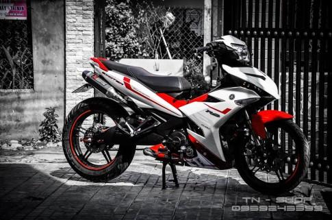 Siêu côn tay Exciter 150 độ phong cách siêu xe thể thao YZF R1