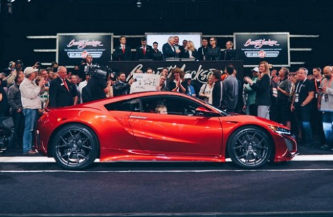 Siêu xe Honda NSX đầu tiên có giá 1,2 triệu USD