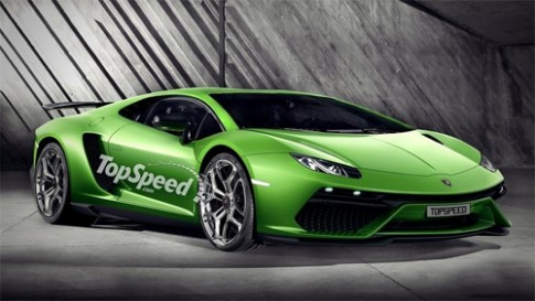 Siêu xe mới của Lamborghini sắp xuất hiện