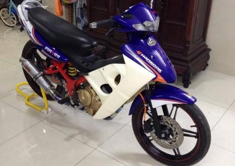Suzuki FX125 khung sườn đỏ cùng bộ mâm Exciter 150
