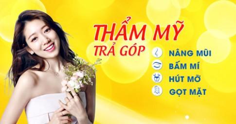 Thẩm mỹ trả góp lãi suất 0% lần đầu tiên tại Việt Nam.