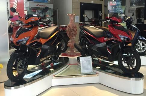 Thị trường xe máy trái ngược mùa cuối năm