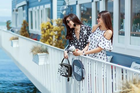 Thuỳ Dung và Lệ Hằng khoe street style tuyệt đẹp ở Mỹ