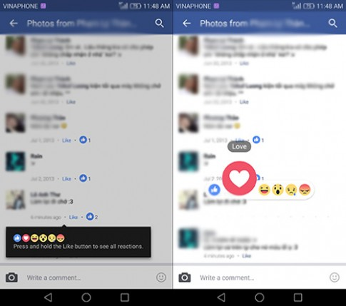 Tính năng cũ mà mới cho các bình luận trên Facebook