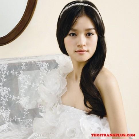 Tóc cô dâu đẹp 2017 đơn giản cá tính trong ngày cưới lộng lẫy