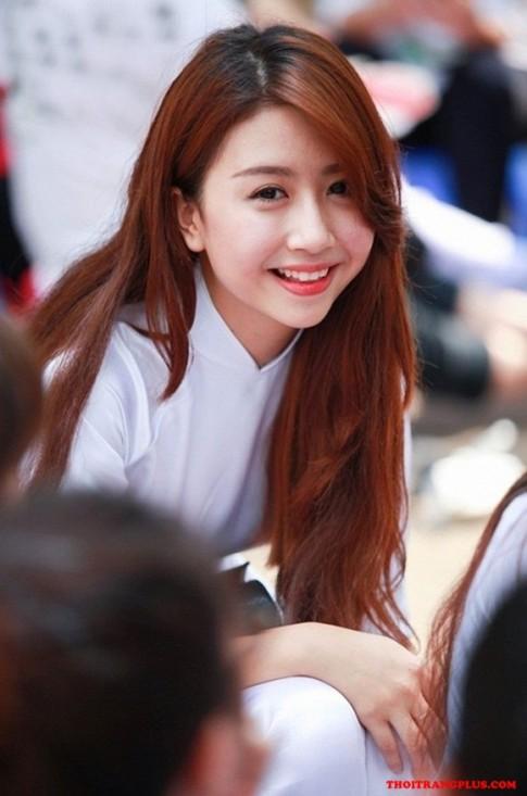 Tóc hàn quốc đẹp 2017 nổi bật khi đến trường của Hot Girl Việt