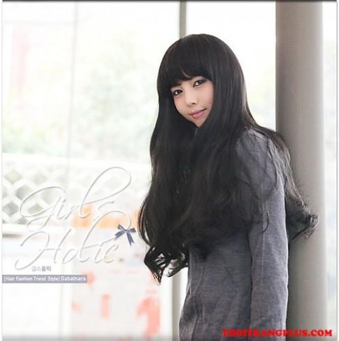 Tóc uốn xoăn đẹp 2017 phong cách Hàn Quốc cho nàng trẻ trung