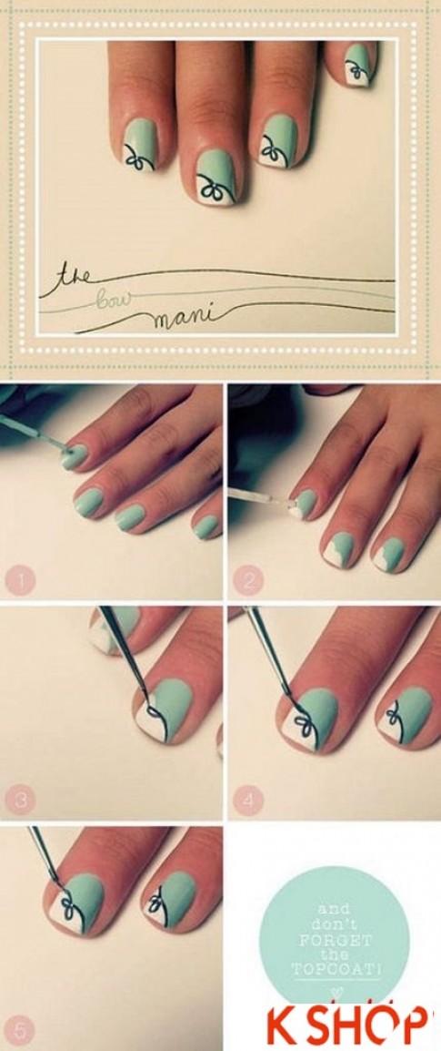 Tổng hợp 10 mẫu vẽ móng tay đẹp rất đơn giản bạn gái không nên bỏ lỡ