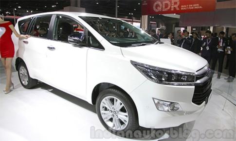 Toyota Innova Crysta thế hệ mới ra mắt tại Ấn Độ