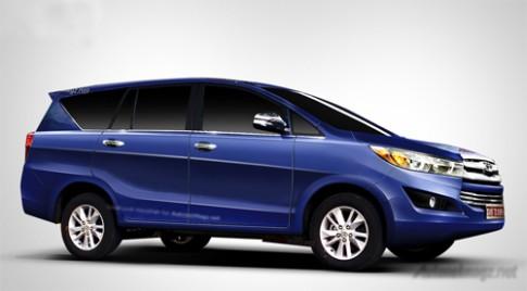Toyota Innova thế hệ mới ra mắt cuối tháng 11