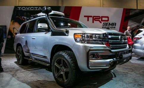 Toyota Land Cruiser TRD - chinh phục địa hình