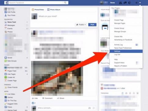 Từng bước hủy thông báo có người Live Video trên Facebook