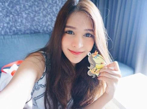 Vẻ đẹp không thể rời mắt của hot girl Thái Lan mang dòng máu lai