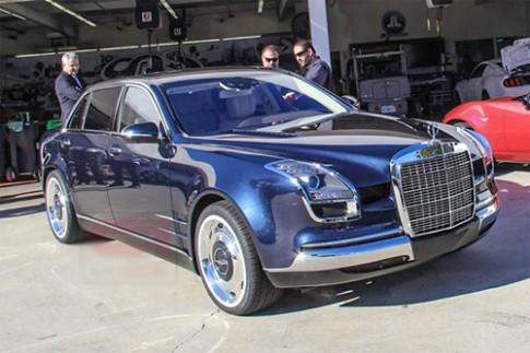 Xe độ phong cách 'hợp chủng' Mercedes