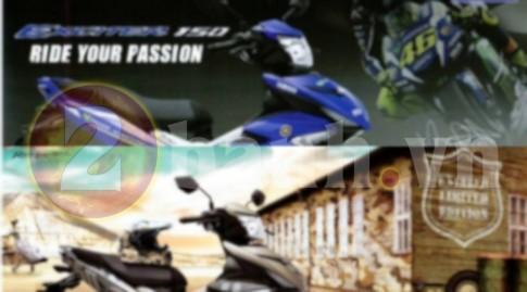 Yamaha Exciter 150 2017 hé lộ 2 phiên bản màu mới