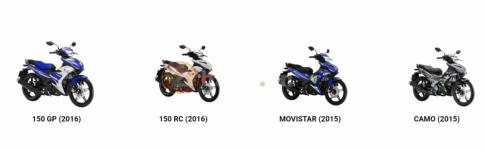 Yamaha Exciter 150 chuẩn bị ra phiên bản màu mới