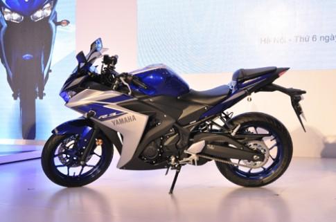 Yamaha R3 gia 150 trieu dong tai Viet Nam