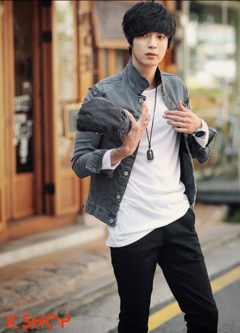 101 kiểu áo thun nam Hàn Quốc đẹp cho chàng năng động dạo phố