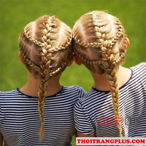 12 Kiểu tóc đẹp nhất 2017 dễ thương xinh xắn cho các bé yêu