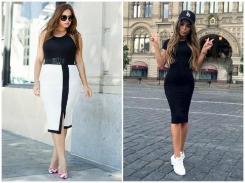 12 kiểu trang phục chị em cứ thoải mái mặc không lo gầy hay béo