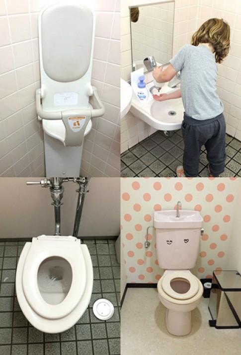 6 điều kỳ lạ bạn có thể thấy trong WC của Nhật