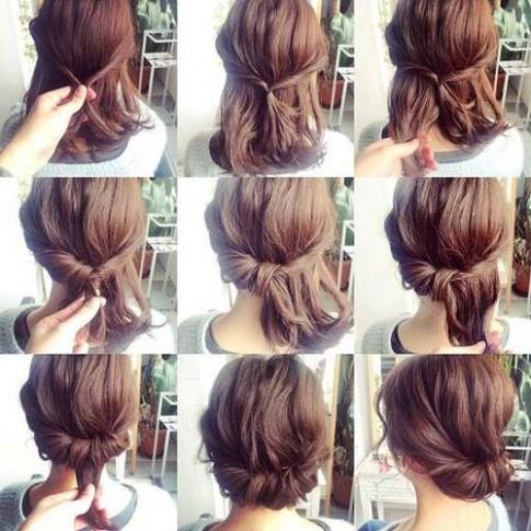 8 kiểu tết tóc sinh ra để dành riêng cho những cô nàng tóc ngắn