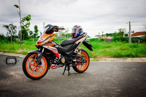 Ấn tượng cùng chiếc Winner độ phiên bản Repsol của biker Việt