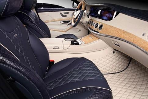 Ảnh chi tiết nội thất Mercedes S600 Guard