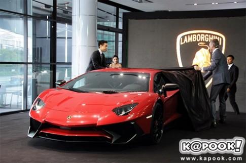 Ảnh Lamborghini Aventador SuperVeloce ra mắt tại Thái Lan