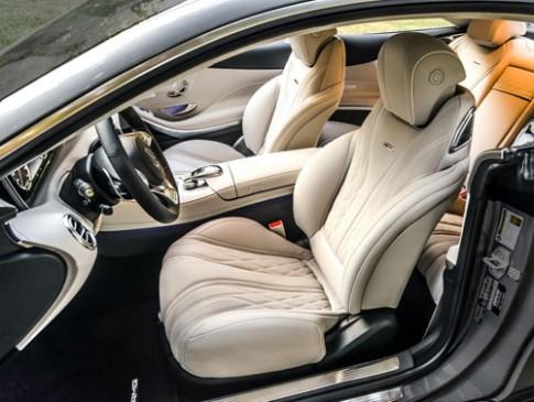 Ảnh Mercedes S-class Coupe phiên bản Mỹ