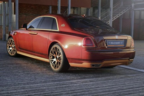 Ảnh Rolls-Royce Ghost serie II độ từ Mansory