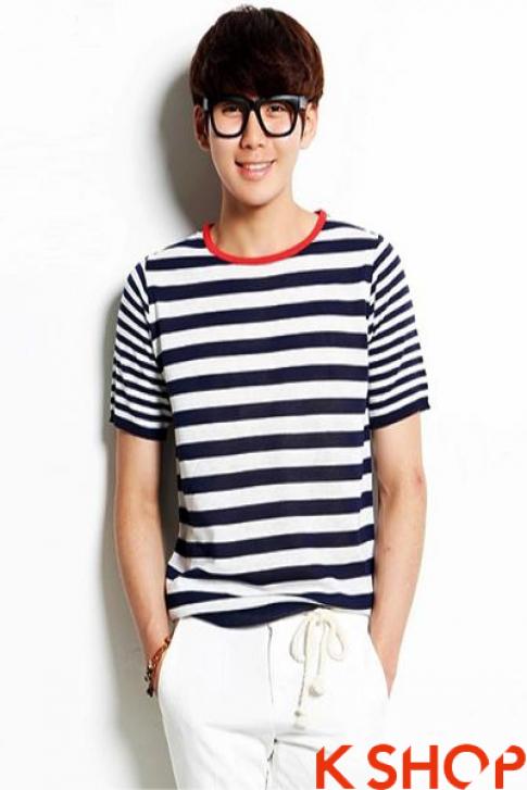 Áo sơ mi nam Hàn Quốc đẹp cho chàng trẻ trung cá tính hè 2017
