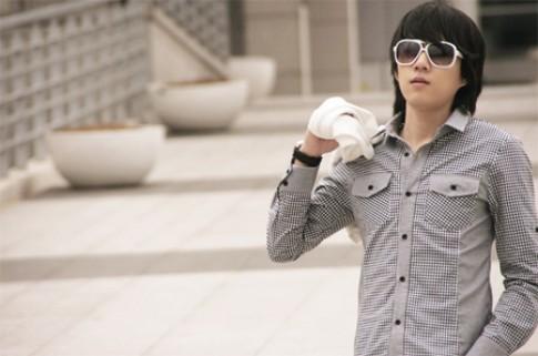 Áo sơ mi nam Hàn Quốc đẹp hè 2017 bó sát người cho chàng quyến rũ