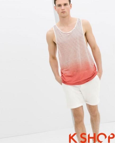 Áo tanktop nam đẹp xu hướng thời trang hè 2017 cá tính năng động