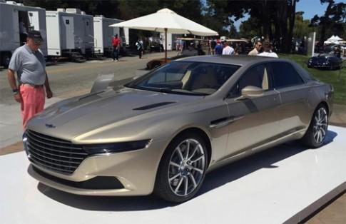 Aston Martin Lagonda Taraf - siêu sang giá triệu đô