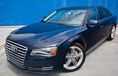 Audi A8 đời 2013 giá từ 73.100 USD
