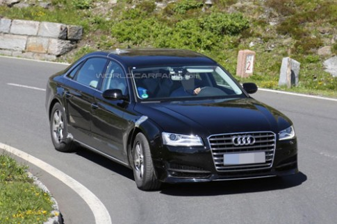 Audi để lộ về A8 mới