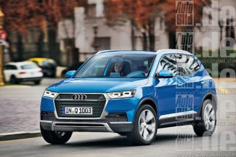Audi sắp có crossover cỡ nhỏ Q1