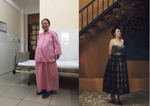 Bà mẹ giảm 12kg sau sinh hai tháng mà vẫn có tủ sữa khổng lồ.