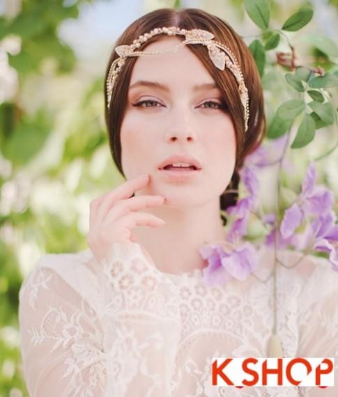 Bật mí kiểu tóc đẹp cho cô dâu đầy quyến rũ lãng mạn trong ngày cưới