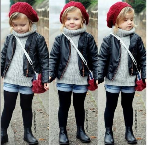 Bé gái được yêu thích khắp thế giới nhờ mặc siêu đẹp