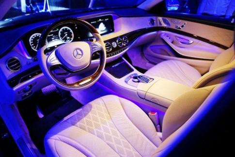 Bí mật nội thất Mercedes S-class thế hệ mới
