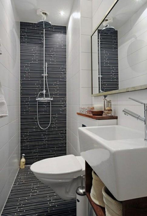 Bí quyết để phòng tắm nhỏ mấy vẫn có thể đẹp