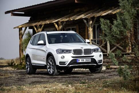 BMW X3 2015 - thể thao và mạnh mẽ hơn