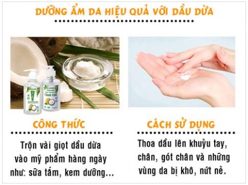 Bỏ túi các tip làm đẹp của dầu dừa nguyên chất.