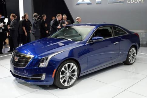 Cadillac ATS coupe - đối thủ của BMW serie 4